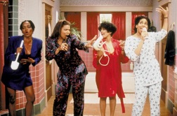 Living Single courtesy Oxygen Erika Alexander, Queen Latifah, Kim Fields, Kim Coles