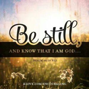 Be Still_Psalm 46_10